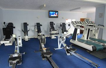 Fully Equippped Gym with Air Machines